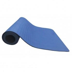 Tapete Yoga Mat em TPE ECO - Azul e Preto