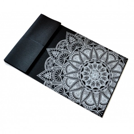 Tapete Yoga Mat Dobrável em PVC ECO