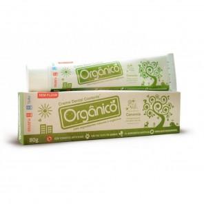Creme Dental Orgânico e Natural (Sem Flúor) – Suavetex 80 g