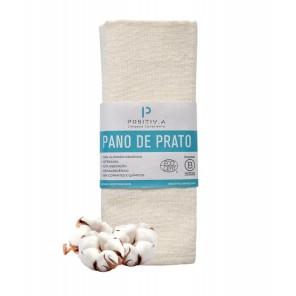 PANO DE PRATO ORGÂNICO NATURAL - Positiv.a