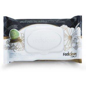 Papel Higiênico Umedecido Biodegradável FeelClean Ecosoft (50 unid)
